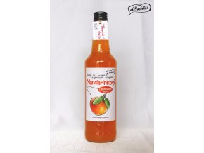 Sirup Mandarinkový