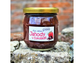 Jahody v čokoládě 200 g Od Macháčků