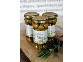 Zelené olivy bez pecky 145 g
