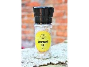 Sůl citronová - mlýnek