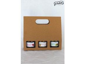 Trojbalení džemíků a marmeládek dle vlastního výběru Od Macháčků