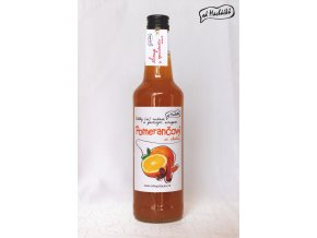 Sirup Pomerančový se skořicí 500 ml Od Macháčků