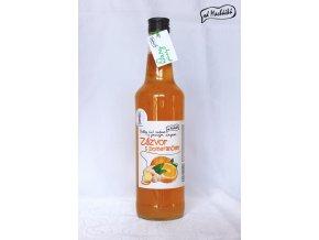 Sirup Zázvor s pomerančem