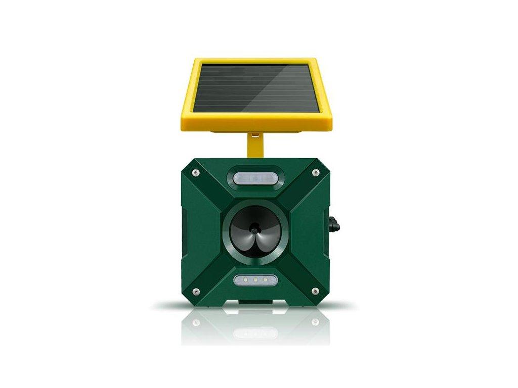 solarni odpuzovac skudcu s bateriemi