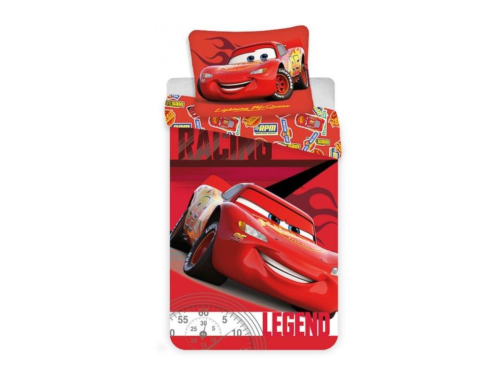 "Povlečení Cars ""Legend micro"" 140x200, 70x90 cm"