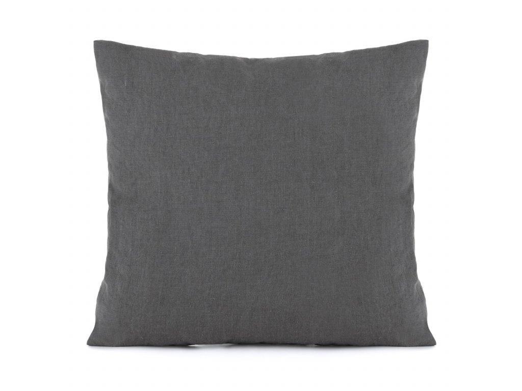 Povlak na polštář Dark Grey 50x70