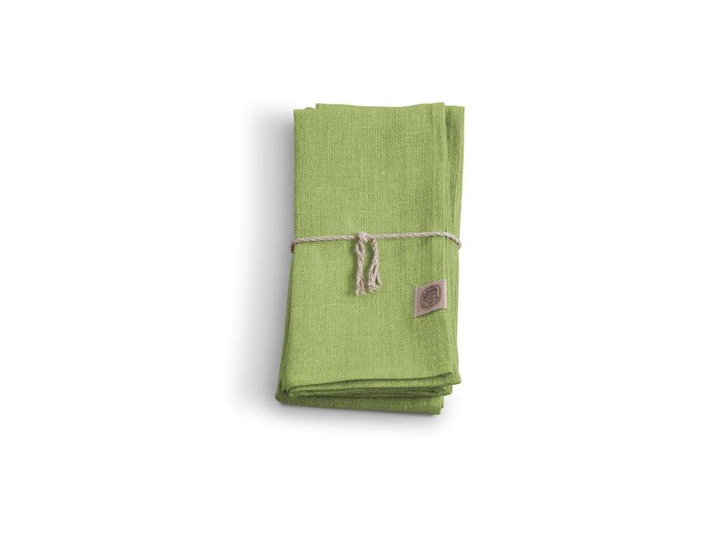 Lovely Linen ubrousek 44x44 SUMMER GREEN
