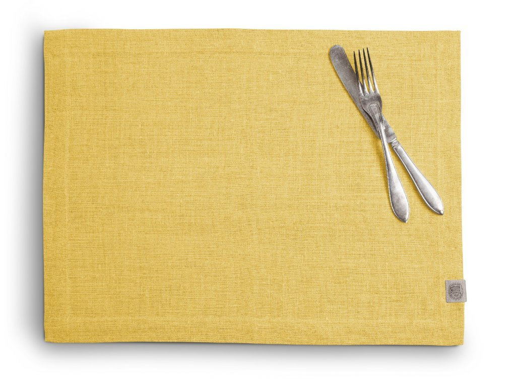 Lovely Linen prostírání 37X50 LEMON SINGLE