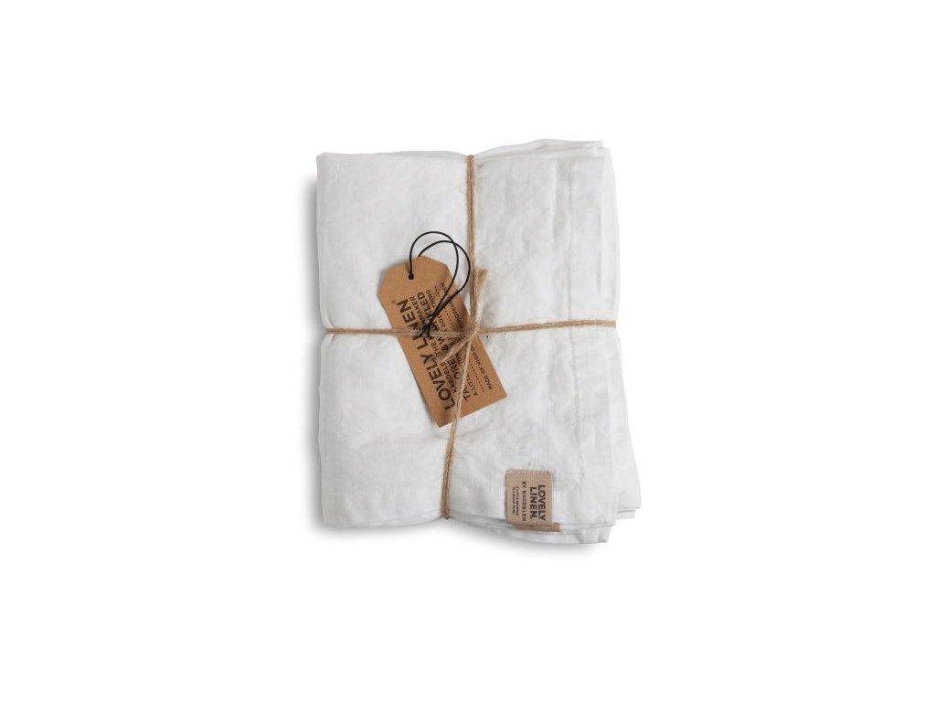 Lovely Linen stolní běžec MISTY 45X150 CLOUD