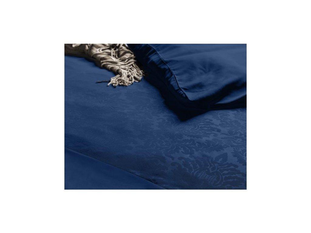 Povlečení Brussel modrá 140x220, 60x70 cm