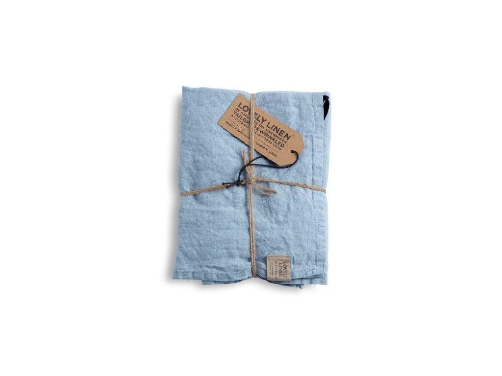 Lovely Linen stolní běžec Misty Sky 47x150