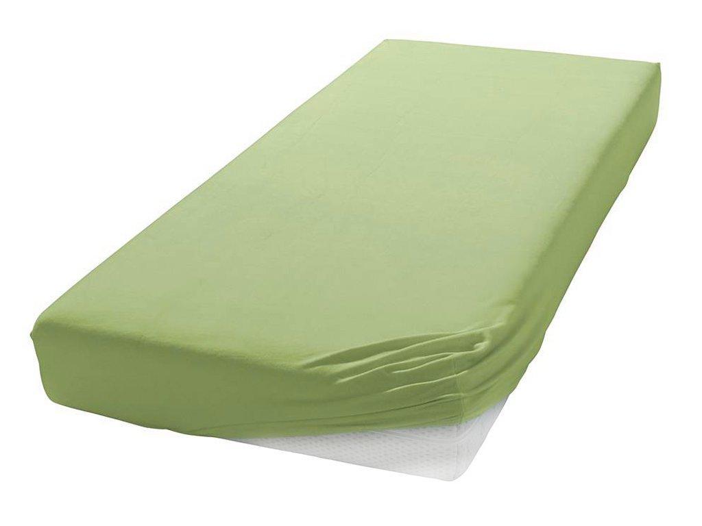 Prostěradlo Jersey černá 80/90/100 x 200