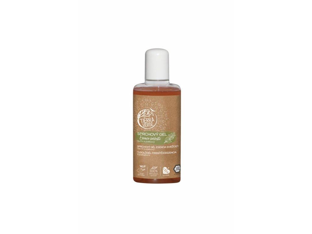 Sprchový gel Esence svěžesti – Vavřín kubébový