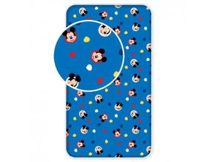"""Prostěradlo Mickey """"004"""" 90x200x25cm."""