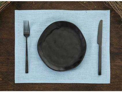 Tom Linen prostírání Light blue 30x40 cm