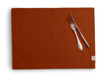 Lovely Linen prostírání 37X50 RUSSET SINGLE