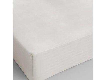 Bavlněné prostěradlo krémová 80x200