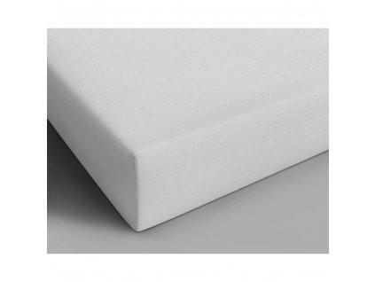 Bavlněné prostěradlo bílá 160x200