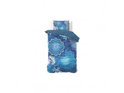 Povlečení LUNA BLUE 140x220, 60x70 cm