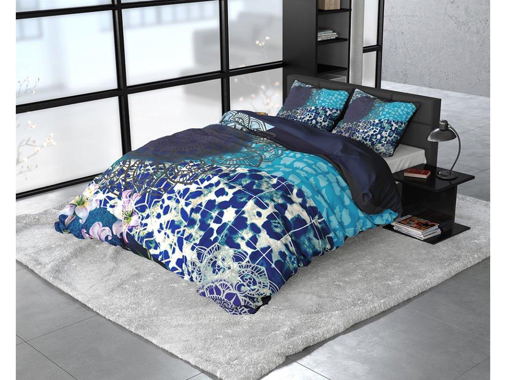 Obliečky z bavlneného saténu Imara Multi 140x200/220, 60x70