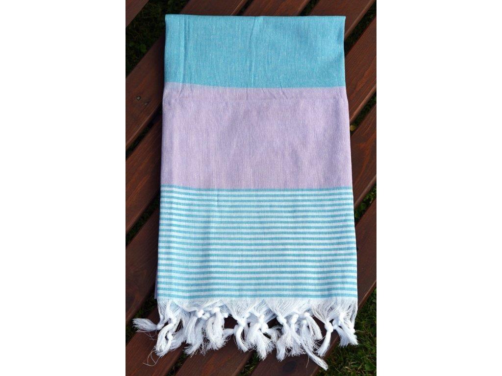 Pončo Mickey star 50x115 cm