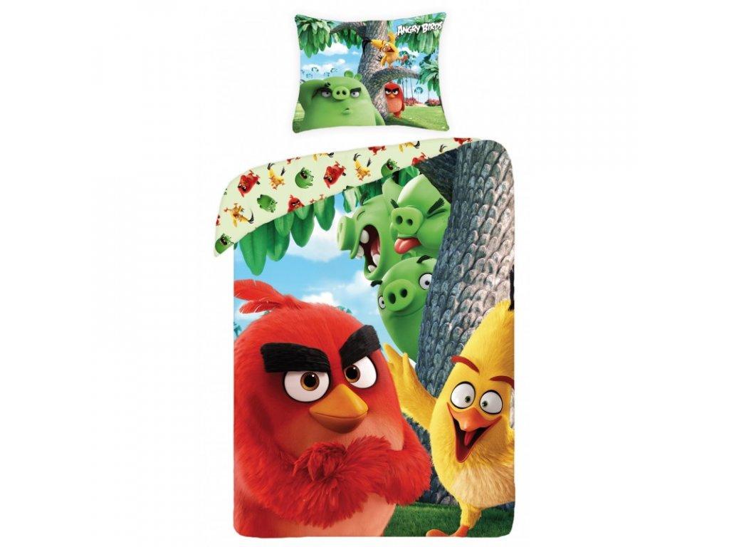 Obliečky Angry Birds ABM-1166 140x200cm, 70x90cm