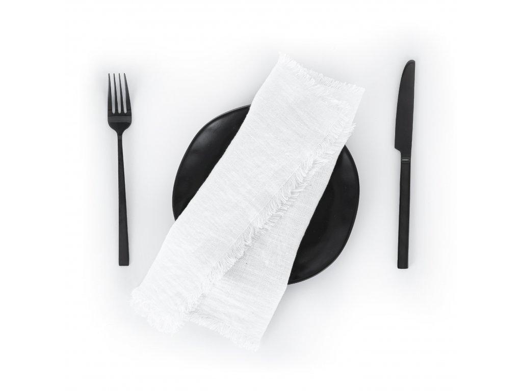Prestieranie s strapcami White 30x40 cm