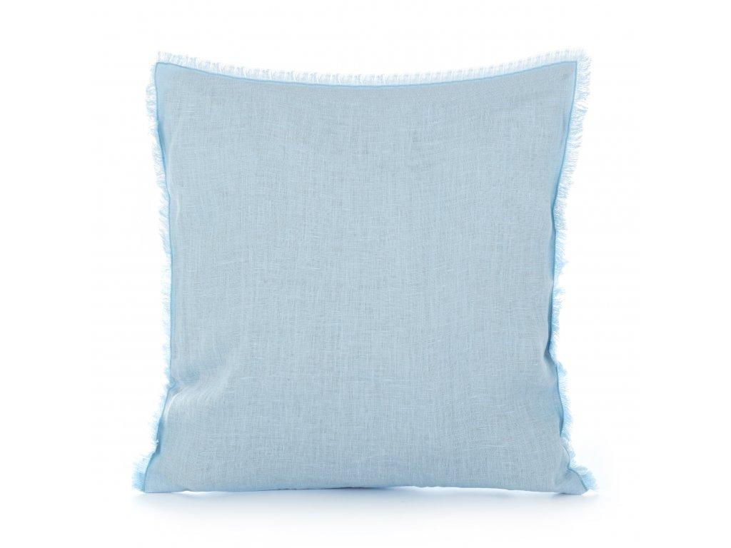 Povlak na vankúš s strapcami Light Blue 50x50