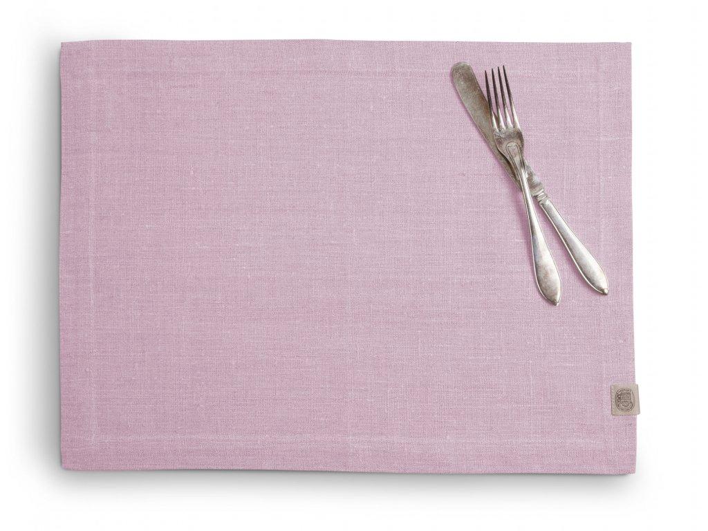 Lovely Linen prestieranie 37X50 SOFT PINK