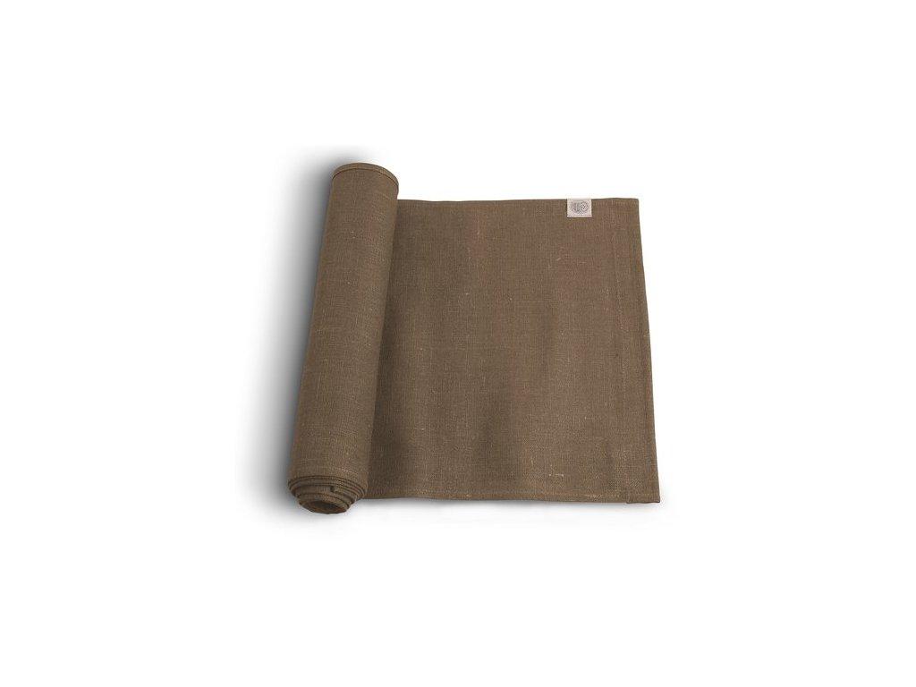 Lovely Linen stolný bežec 47x150 NOUGAT SINGLE