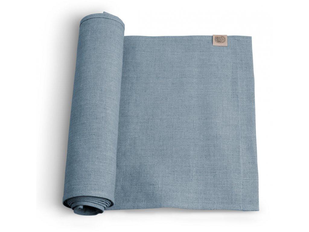 Lovely Linen stolný bežec 47x150 PIGEON BLUE