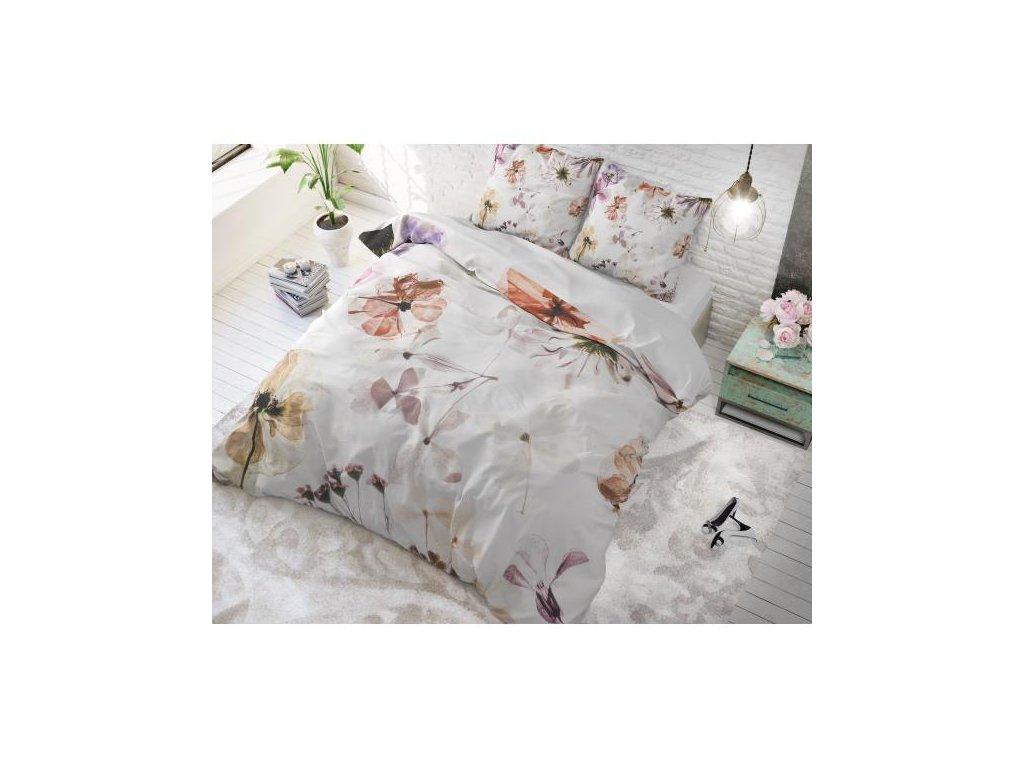 Bavlnené obliečky FLOWERS 200x220,60x70cm.
