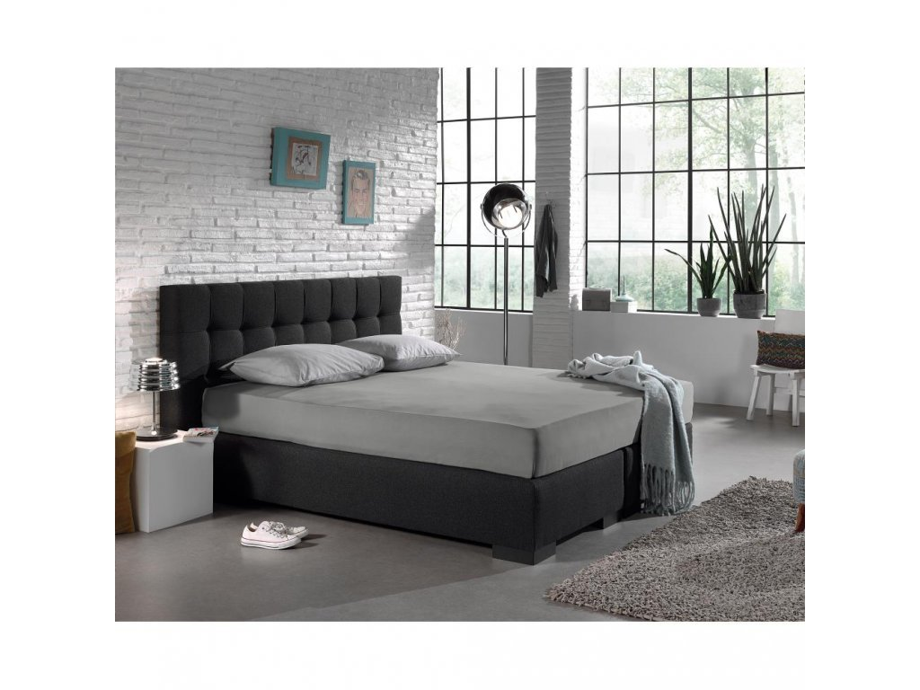 Plachta Jersey modrá 160/180x200