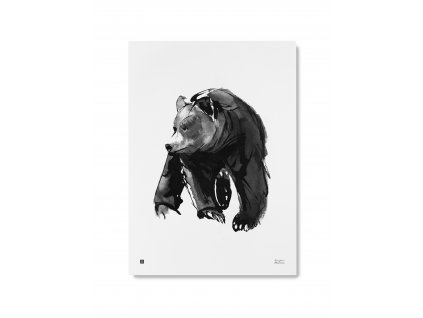 Plagát Gentle bear 50x70