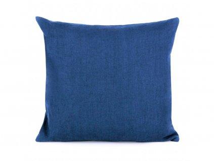 Detské ľanové obliečky Navy Washed 90x135, 40x60