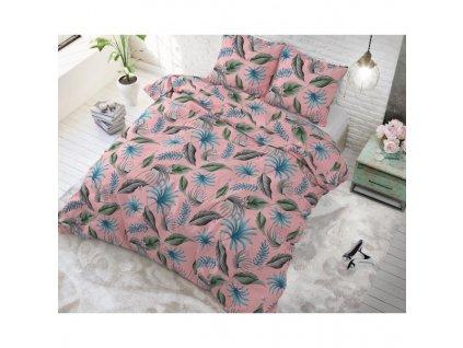Obliečky YELLIE PINK 140x220, 60x70 cm.