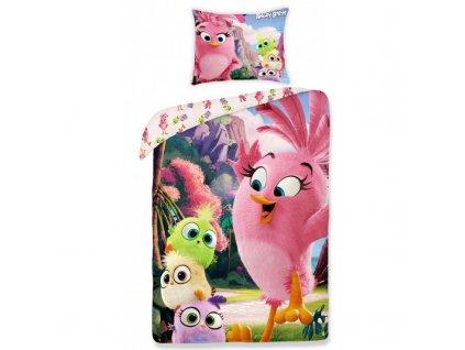 Obliečky Angry Birds ABM-1155BL 140x200cm, 70x90cm