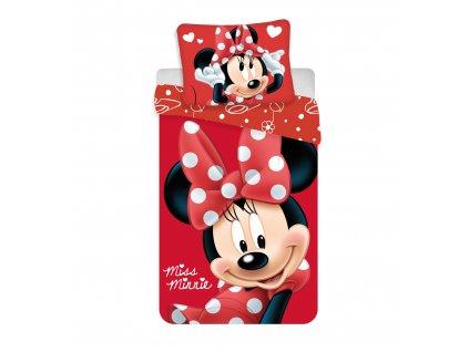 """Obliečky Minnie """"Big Red micro"""" 140x200, 70x90"""