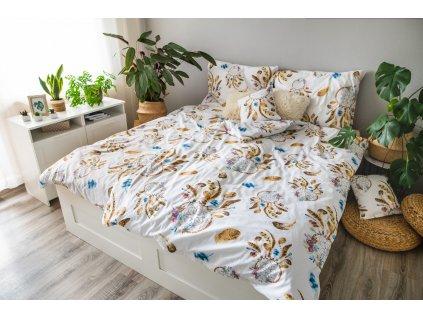 Posteľné obliečky 3dielne Liliana 140x200 + 70x90 + povláček 40x40 cm