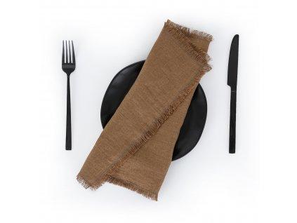 Prestieranie s strapcami Cinnamon 30x40 cm