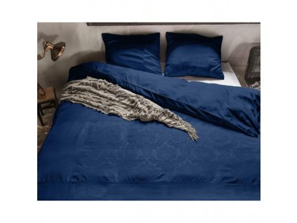 Obliečky Brussel modrá 140x220, 60x70 cm