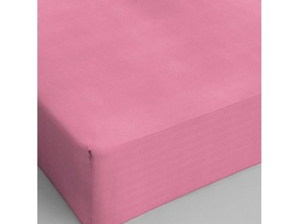 Bavlnené prestieradlo ružová 80x200