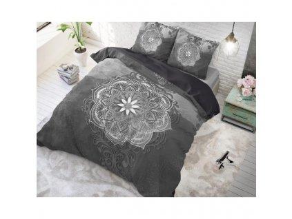Bavlnené obliečky Talo GRAY 200x220,60x70cm.