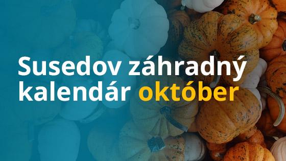 Susedov záhradný kalendár - október