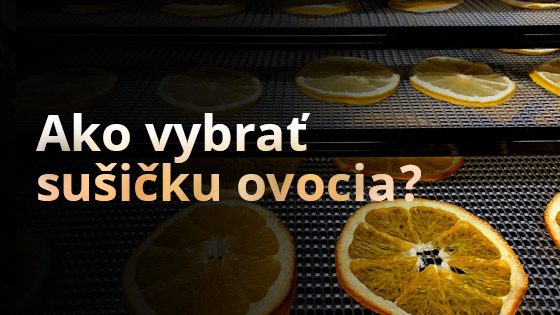 Ako vybrať sušičku ovocia?