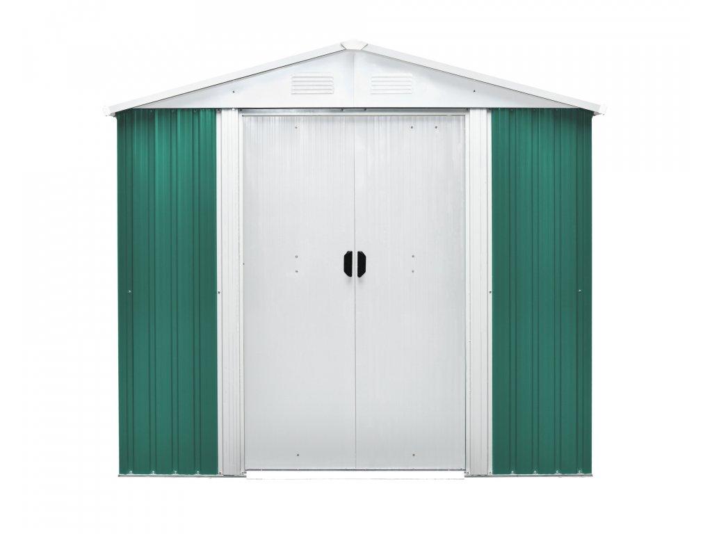 Záhradný domček MAXTORE 108, zelený