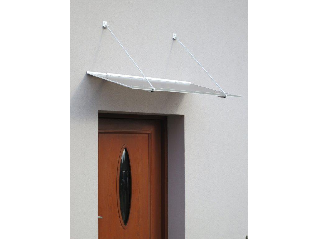 Strieška nad dvere LANITPLAST SP1 120/70, biela