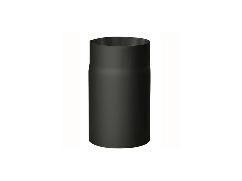 Dymová rúra 145 mm/250, t.1,5 mm, čierna