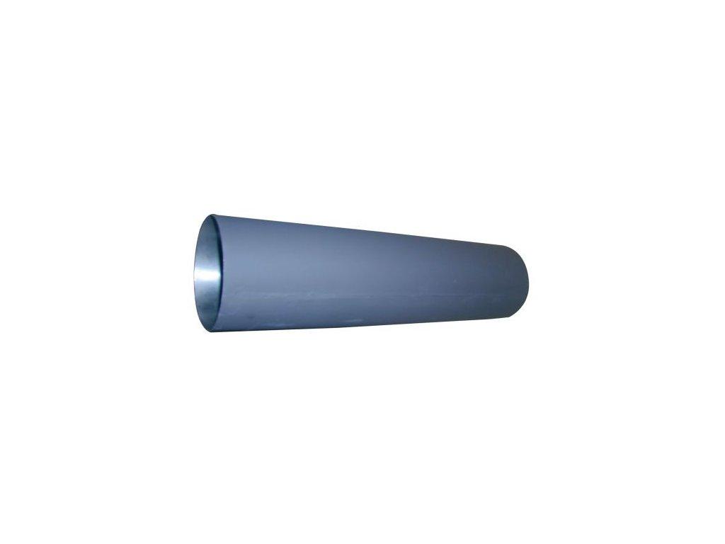 Dymová rúra 125 mm/1000, t.1,5 mm, čierna