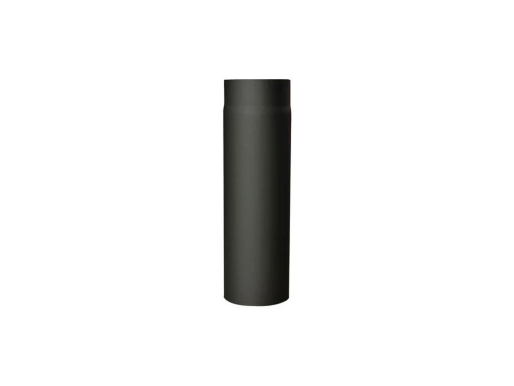 Dymová rúra s otv.130 mm/250, t.1,5 mm, čierna